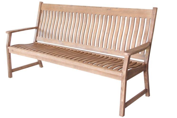 HANOI 3 SET SLATTED BENCH