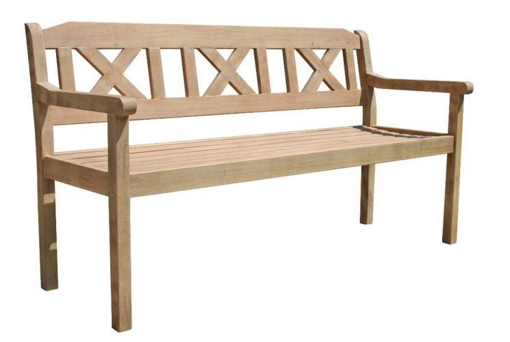 HANOI 3 SEAT CROSSBACK BENCH