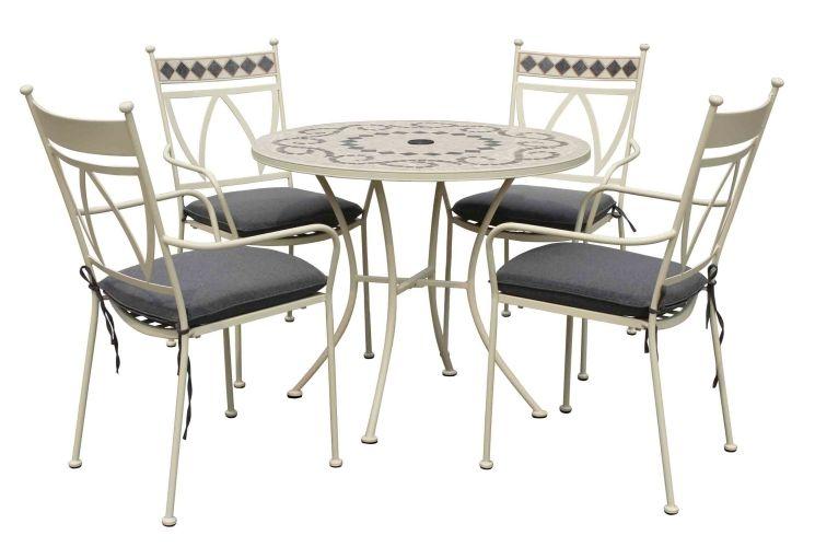 MARRAKECH 4 SEAT DINING SET