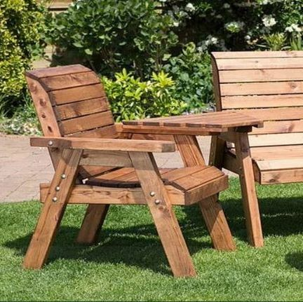 CHARLES TAYLOR TRADITIONAL WOODEN GARDEN FURNITURE