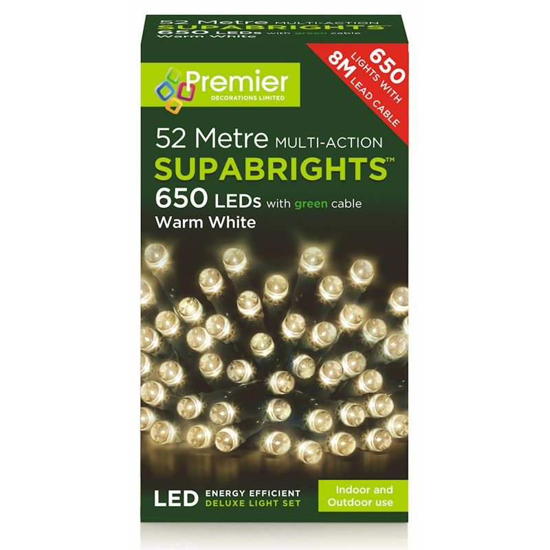 SUPABRIGHTS 650 LED LIGHTS