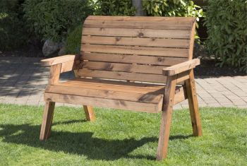 CHARLES TAYLOR TRADITIONAL TWO SEAT BENCH