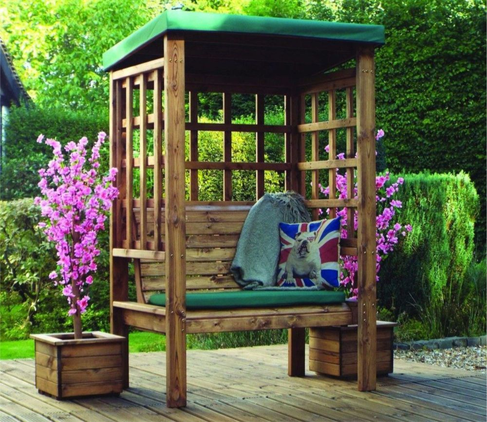 CHARLES TAYLOR BRAHAM TWO SEAT ARBOUR GREEN