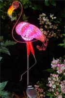 STAKE LIGHT FLAMINGO