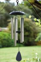 GOLDEN BLACK WINDCHIME
