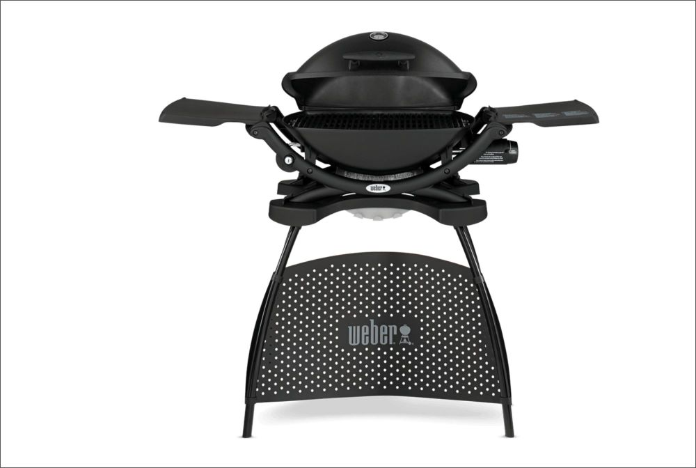 WEBER Q 2200 Gas Barbecue with Stand Black