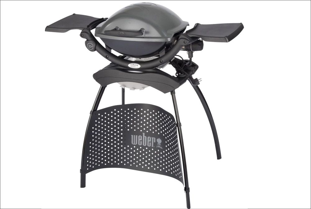 WEBER Q 1400 Electric Barbecue with Stand