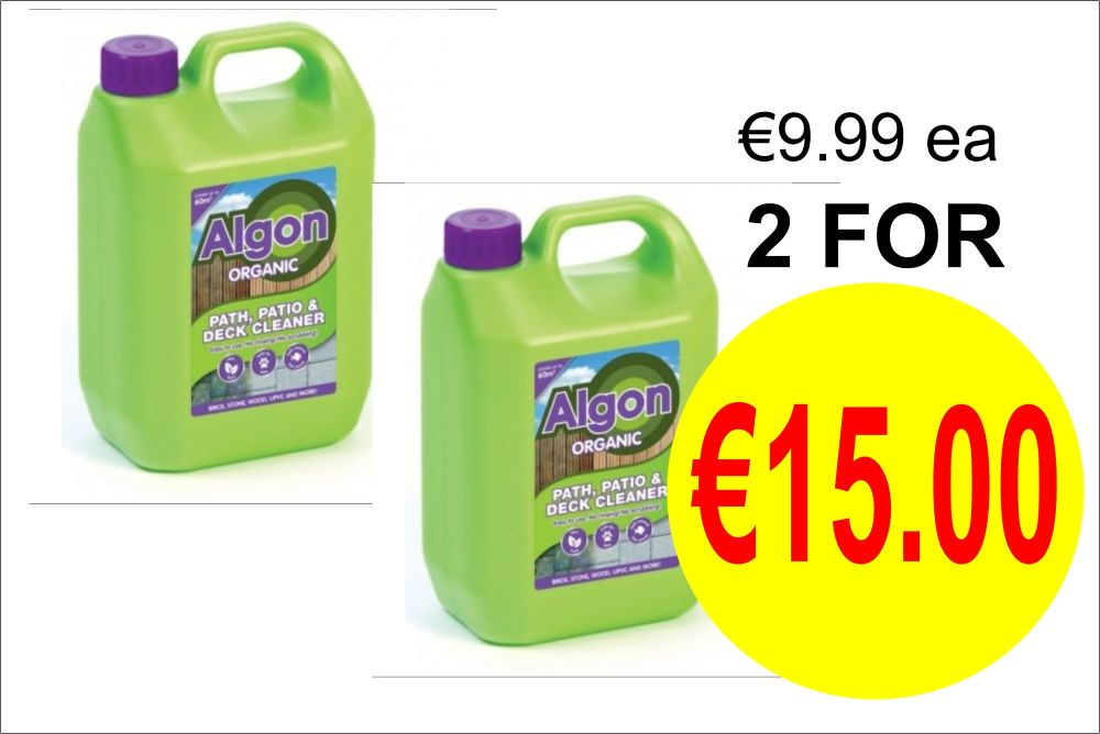 ALGON ORGANIC PATH,PATIO & DECKING CLEANER