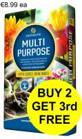 GROWMOOR MULTI-PURPOSE COMPOST WITH ADDED JOHN INNES