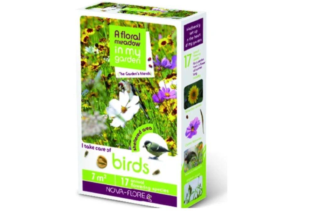 NOVA FLORE BIRDS FLORAL SEED MIX