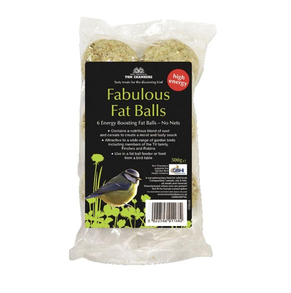 Tom Chambers Fabulous Fat Balls 6 Pack