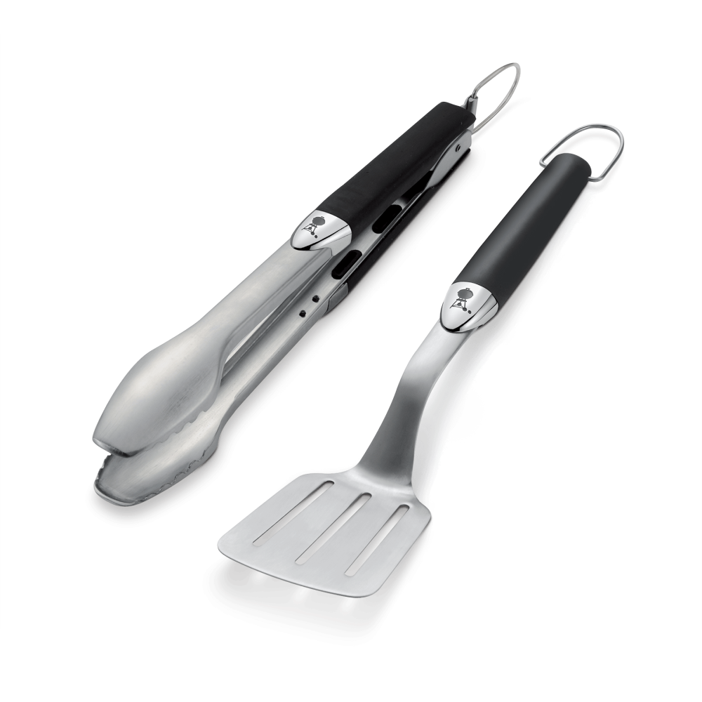 Compact tool set, 2 pcs. , stainless  steel, Black