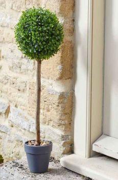 Artificial Uno Topiary Tree