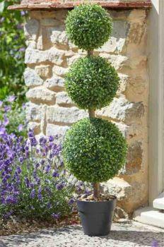 Artificial Trio Topiary Tree