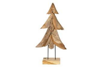 WOODEN CHRISTMAS TREE ON STAND