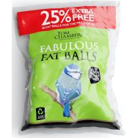 Fat Balls re-fill 25 pack + 25% extra  Free