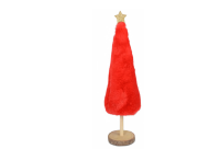 DECO TREE  RED SM