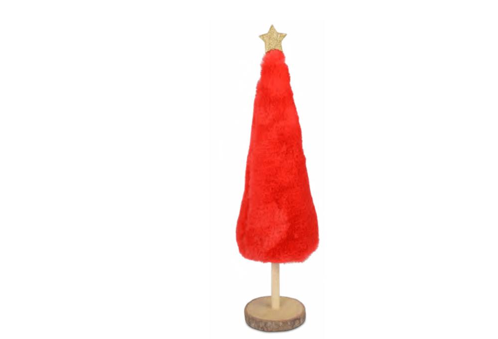 DECO TREE RED LRG