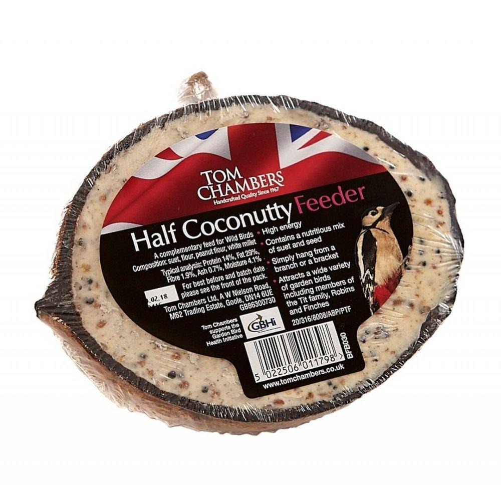 Coconut_Half_Bird Food
