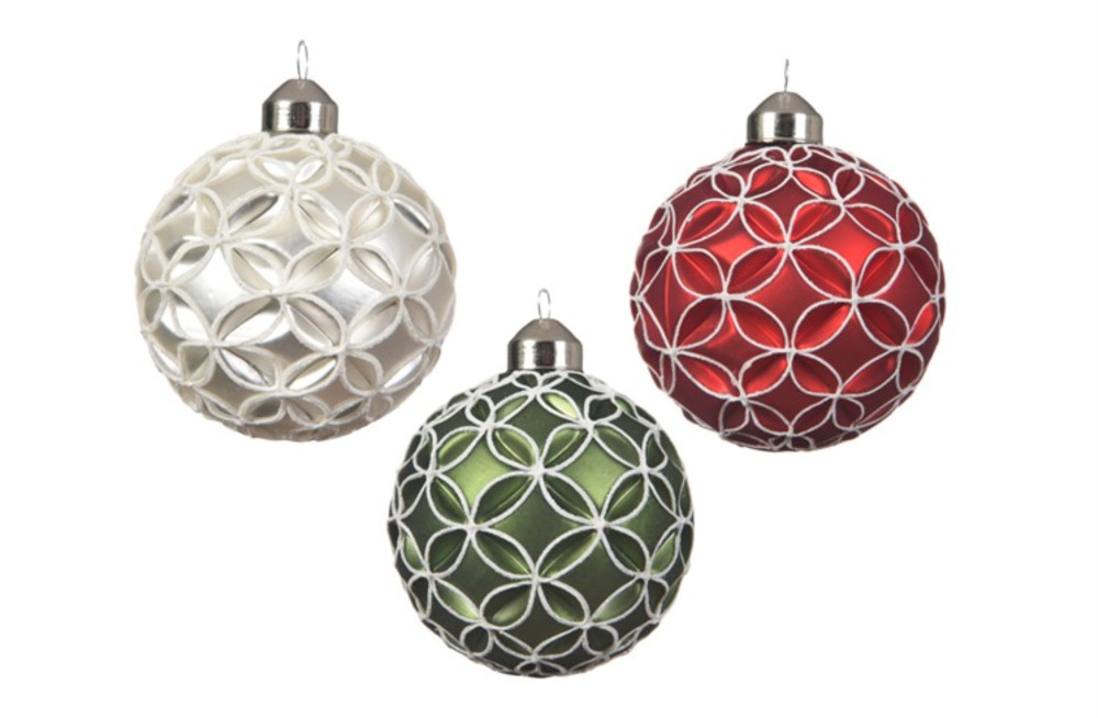 BAUBLE WITH CIRCLE MOULD