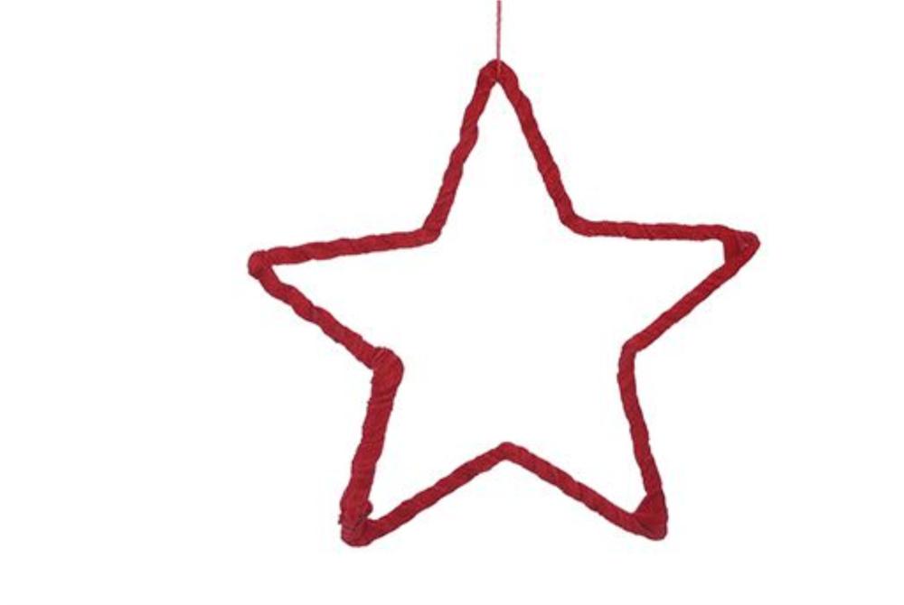 STAR ORNAMENT VELVET