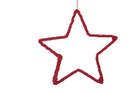 STAR ORNAMENT VELVET sm