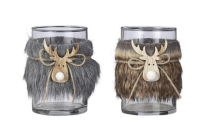 DEER FUR TEALIGHT HOLDER