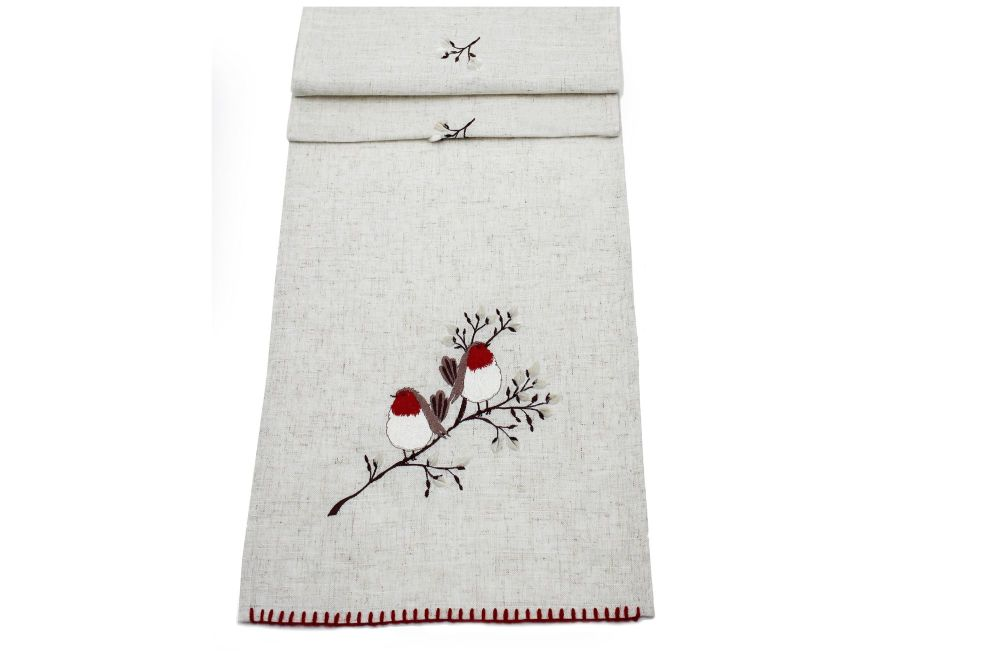 PUSSYWILLOW TABLE RUNNER