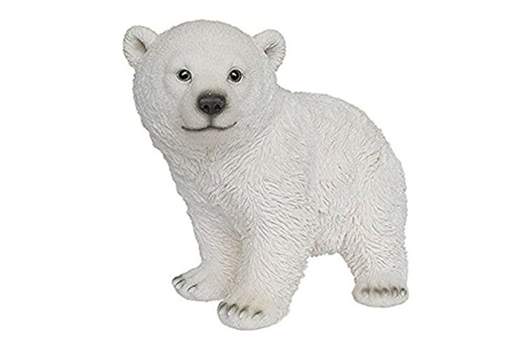 PLAYFUL POLAR BEAR STANDING -B