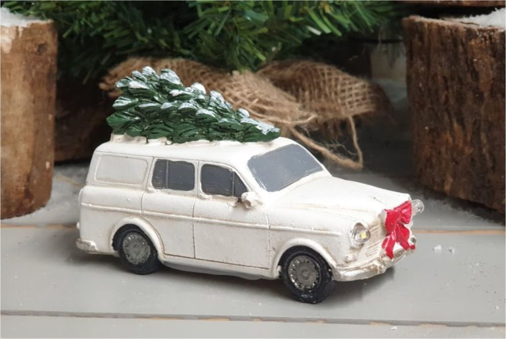 CHRISTMAS CAR with leds