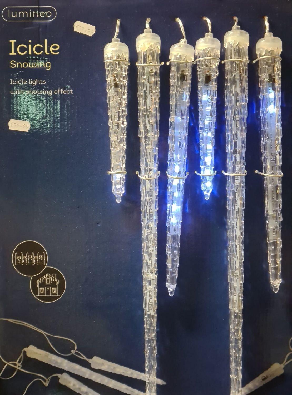 Lumineo Icicle snowing acrylic led lights