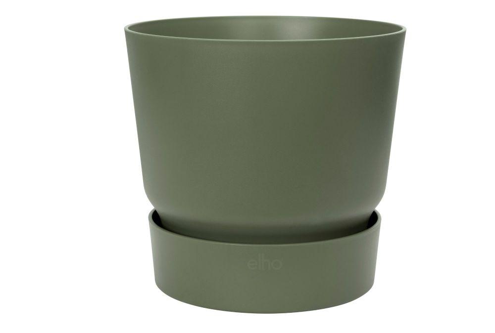 Greenville round 30cm leaf green