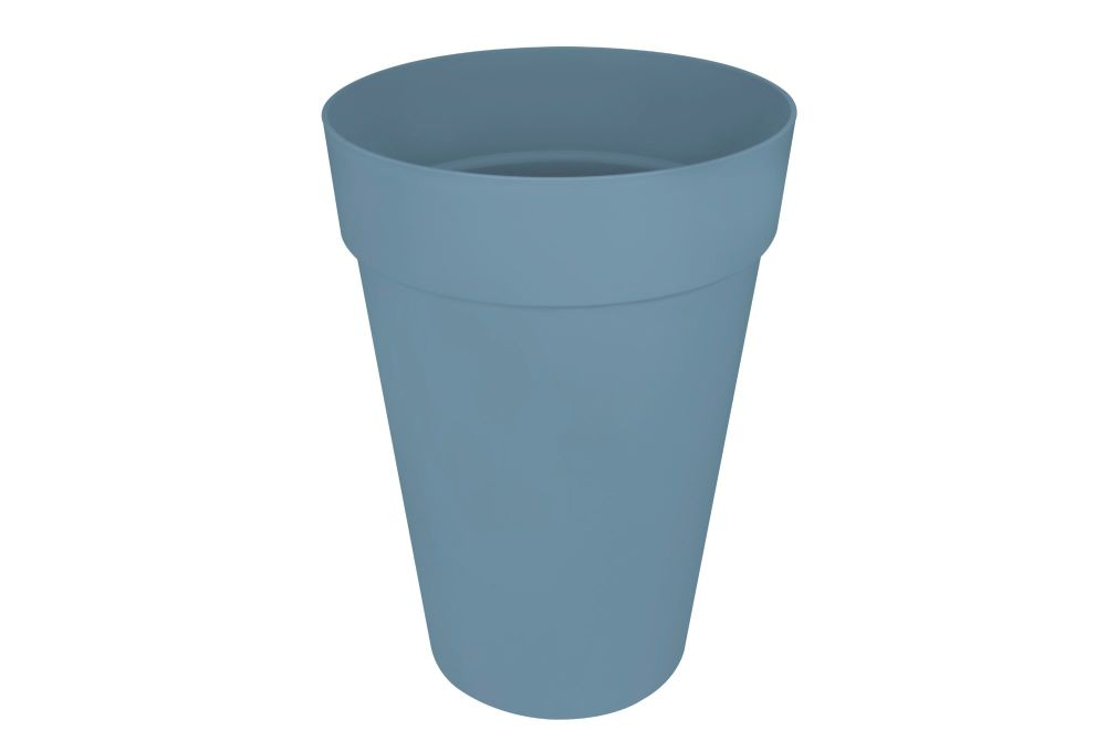 LOFT ROUND HIGH  28 cm vintage blue