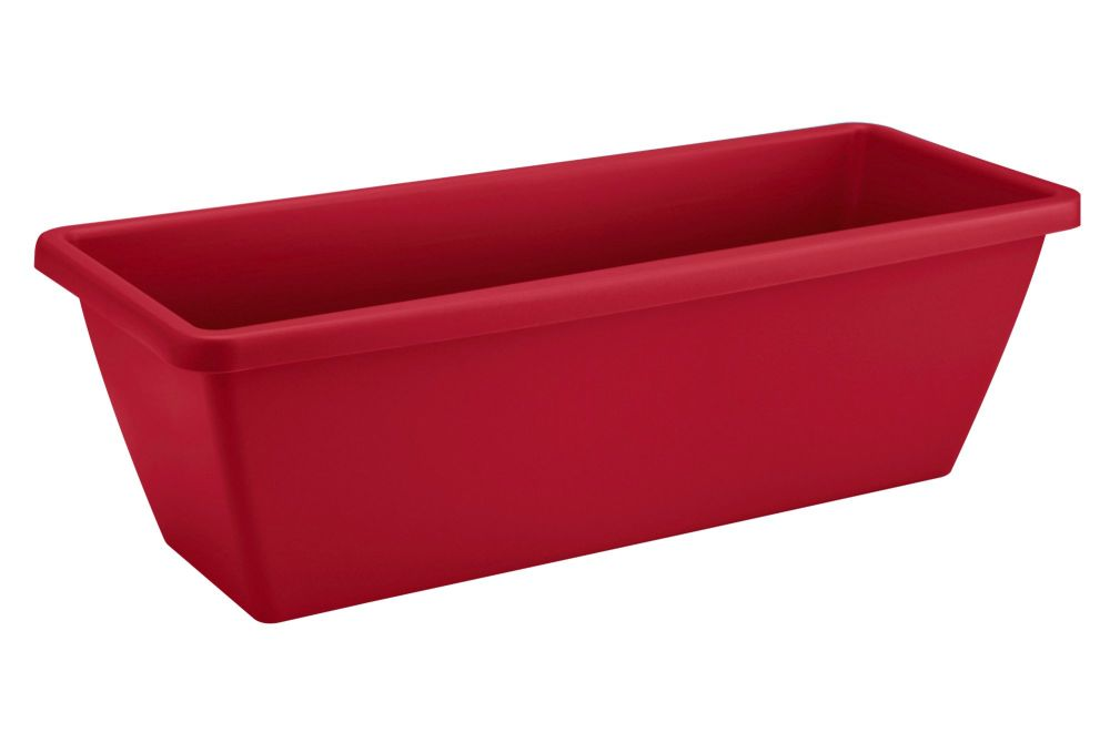 BARCELONA TROUGH 40 cranberry red
