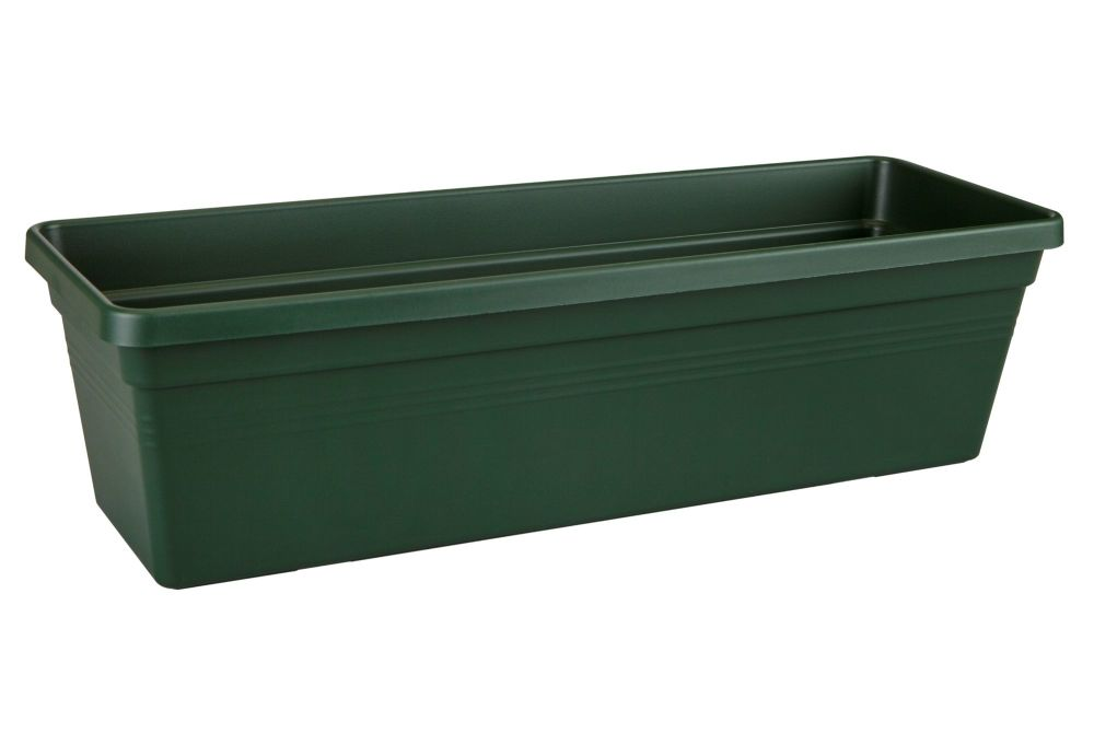 GREEN BASIC TROUGH 40  leaf green