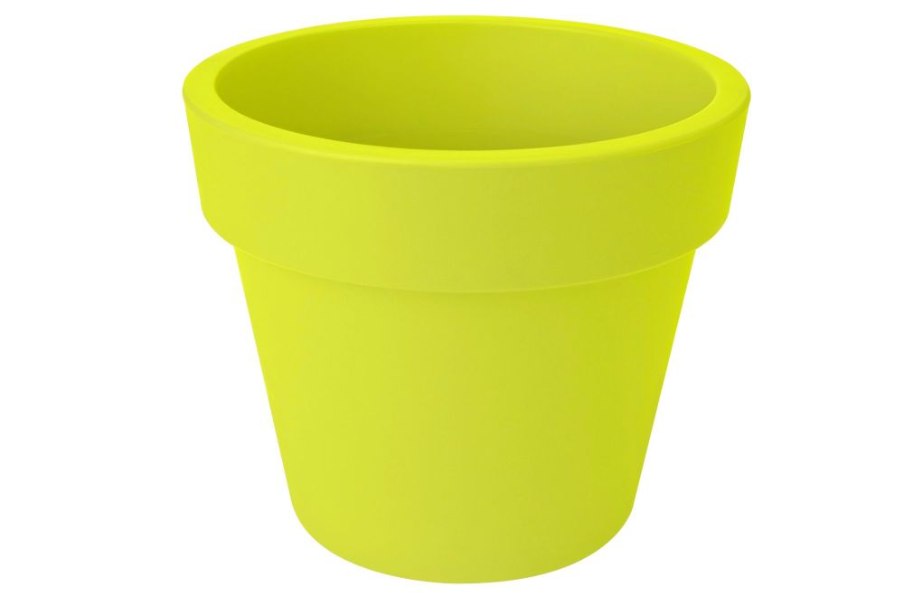 GREEN BASIC TOP PLANTER 23 lime green