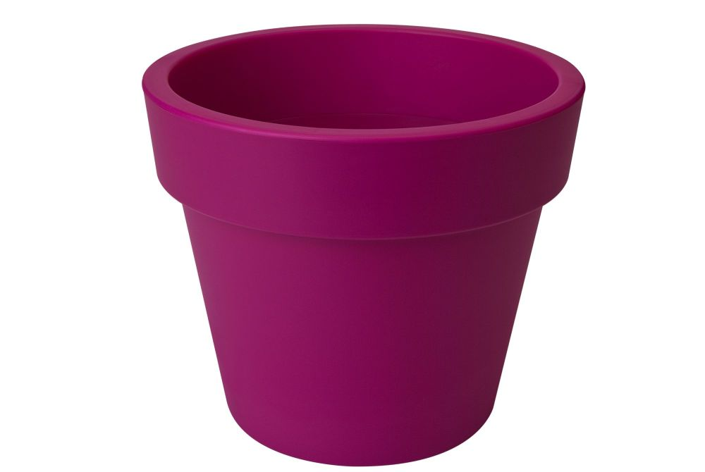 GREEN BASIC TOP PLANTER  40  cherry red