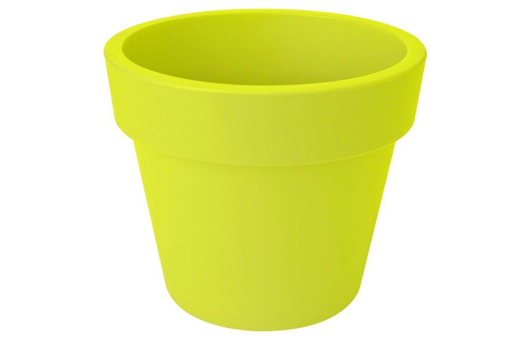 GREEN BASIC TOP PLANTER  47  lime green