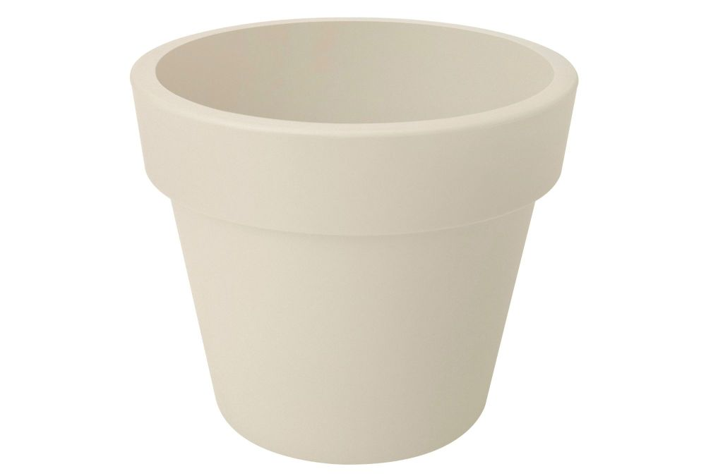 GREEN BASIC TOP PLANTER  47  cotton white