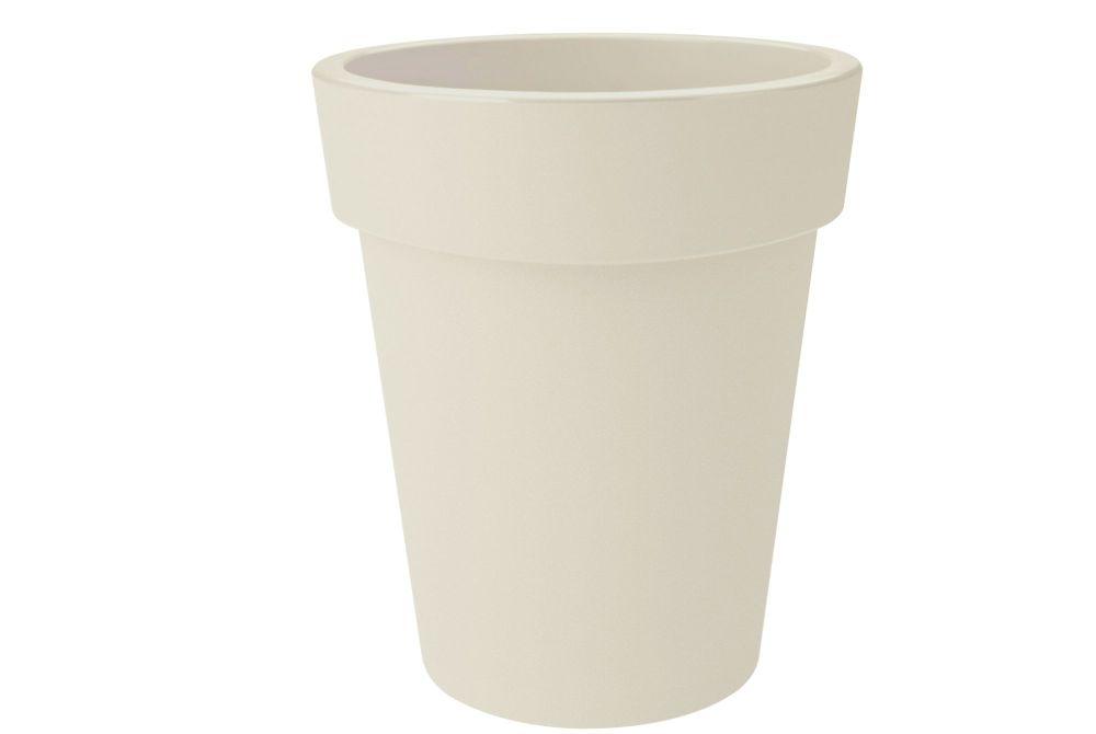 GREEN BASIC TOP  PLANTER HIGH  35 cotton white