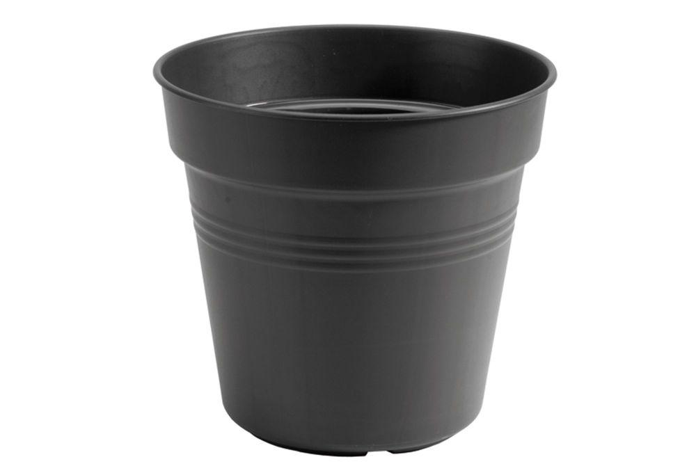 GREEN BASIC GROWPOT 24 living black