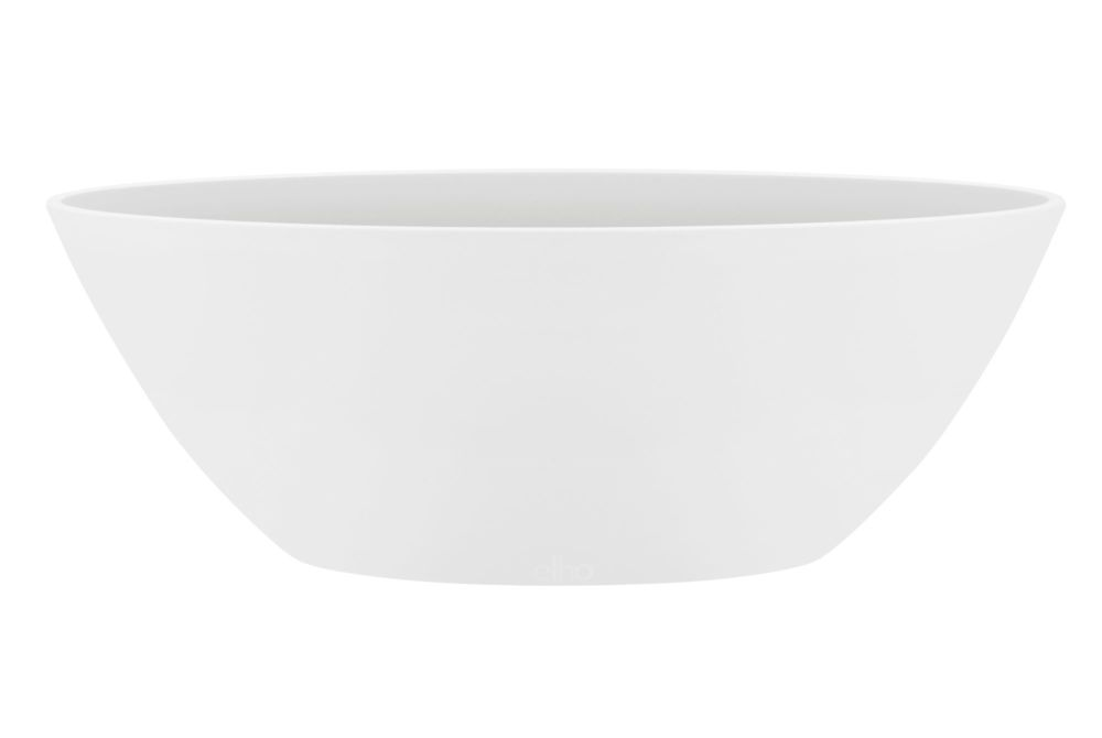BRUSSELS  OVAL 36  white