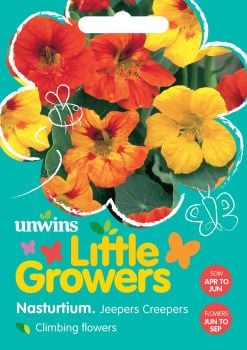 Little Growers Nasturtium Jeepers Creepers