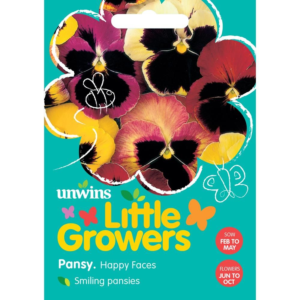Little Growers Pansy Happy Faces