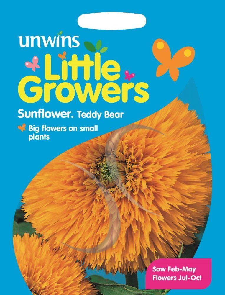 Little Growers Sunflower Teddy Bear