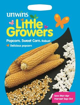 Little Growers Sweet Corn Popcorn Robust