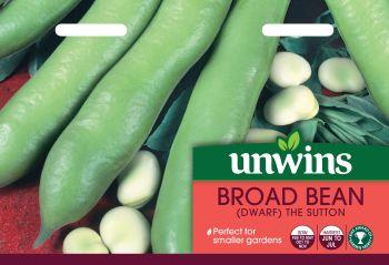Broad Bean (Dwarf) The Sutton