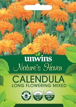 NH Calendula Long Flowering Mixed