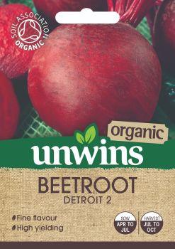 Beetroot (Round) Detroit 2 (Organic)