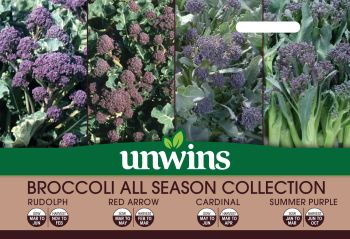 Broccoli (Sprouting) All Season Collection Pack